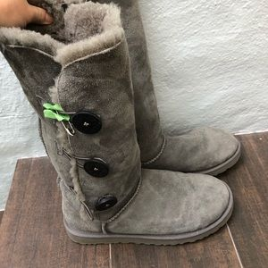 UGG tall side button boots